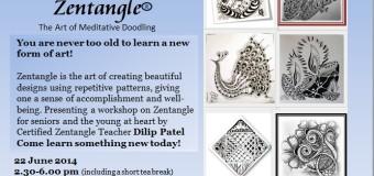 A Workshop on Zentangle