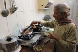 Kamla Sachdev at work
