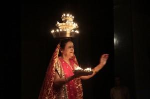 The diya dance. Pic: Silver Innings