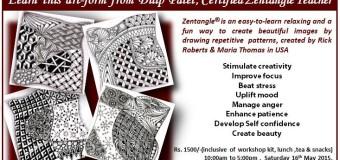 Zentangle Workshop