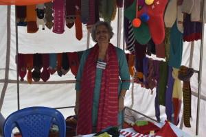 Senior entrepreneur Madhu Mehra is all smiles