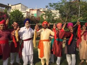 Humjoli members celebrate Baisakhi