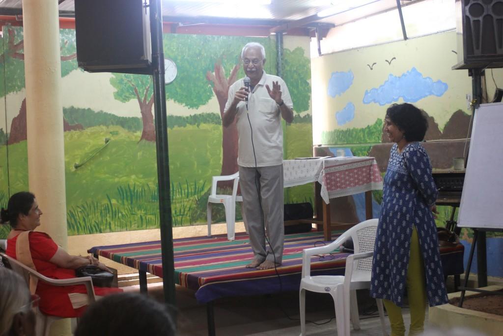Vijay Padaki introduces Elder's Theatre