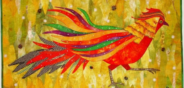 A Magical Medium: Leela Cherian's Art Quilts