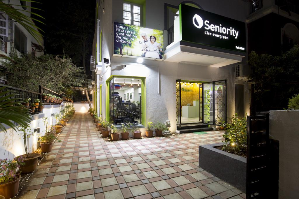 The Seniority store in Pune