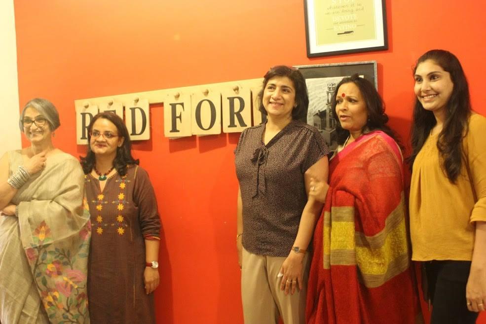 We thank Zarine Kharas of Red Fork, Viji Venkatesh, Ashika Naik, VJ Vikram Kumar Jain and others from The Max Foundation, Shekhar Vijayan for conducting the proceedings  .