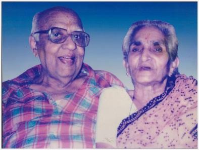 Sunita Bhalerao's paarents