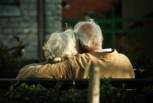 Elderly ouple