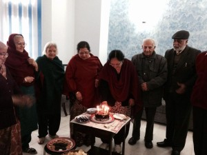 Celebrating a birthday at the centre