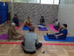 senior yoga