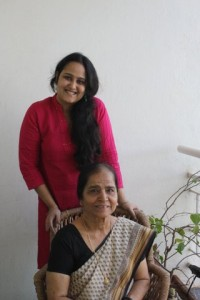 Lima with creative granny Suman Prakash