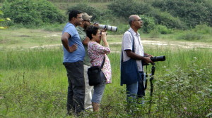 Seniors can join the younger ones easily for birding trip.