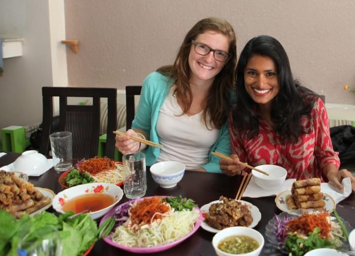 Stephanie and Aashi
