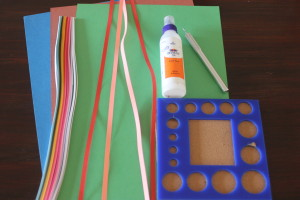 Material required for Quilling