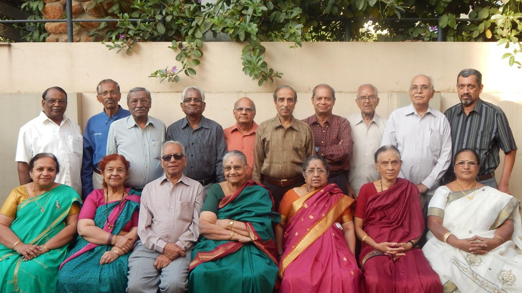 Some of the current members of Jnanajyothi