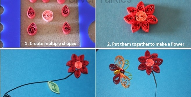 Quilling, the art of paper coiling – A tutorial