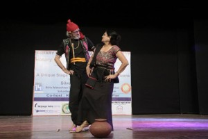 Hansa Mehta and her husband perform in Umang Pic: Silver Innings