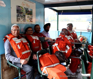 The 50+ Voyagers Club on a trip to Periyar in Kerala