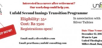 Kickstart your Second Career with our Workshop