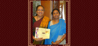 Asha Satish Philar, Sanskrit Learner