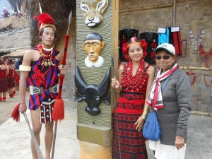 Krishna @ Nagaland Hornbill Festival