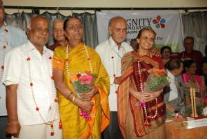Celebrating golden jubilee couples