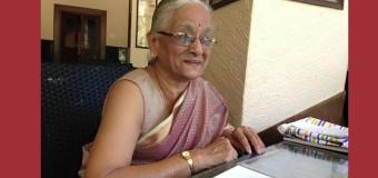 Sarla Mukund, Senior Volunteer