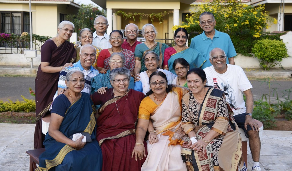 The senior citizens at Covai