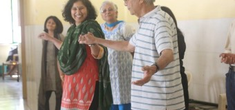 Elder's Theatre Workshop For Senior Residents Of L&T South City