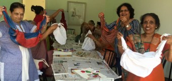 Fabric Recycling Workshop For Senior Citizens