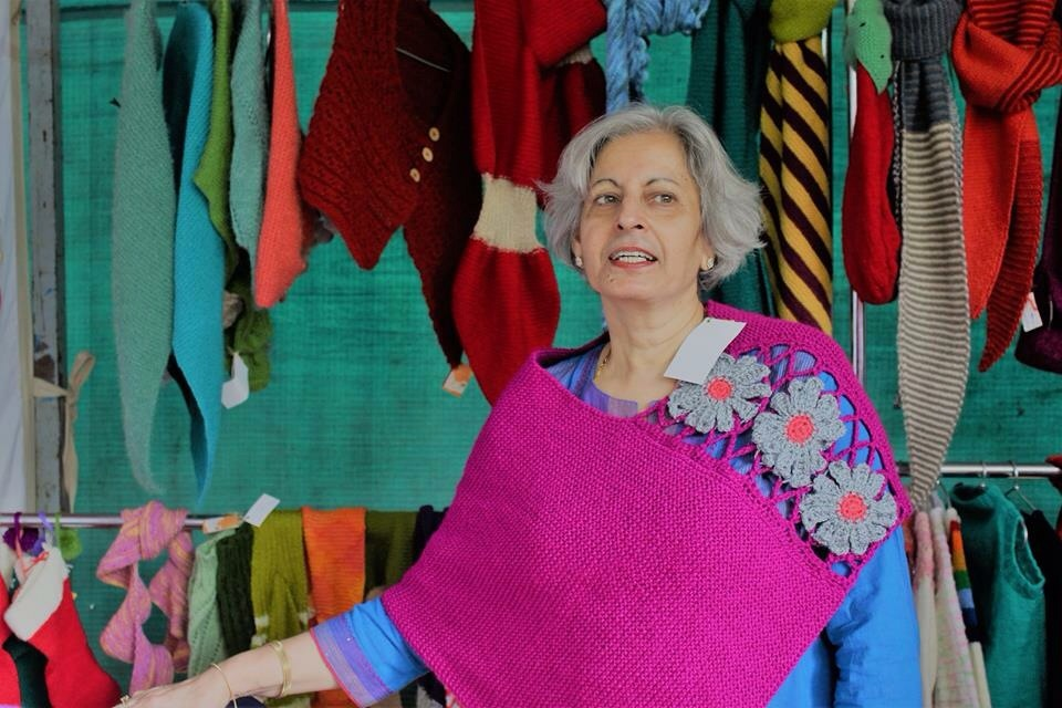 Madhu Mehra of She Who Knits