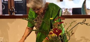 THE ART OF IKEBANA, DEMO WORKSHOP BY SHYAMALA GANESH