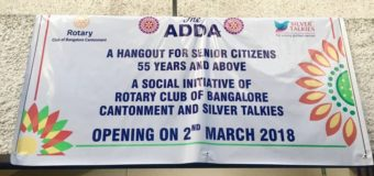 THE ADDA- A Hangout for the 55+