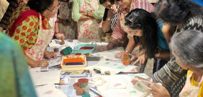 Block Printing Workshop By Go Earthy