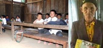 This 73-Year-Old Mizo Man Has Gone Back to School to Learn English