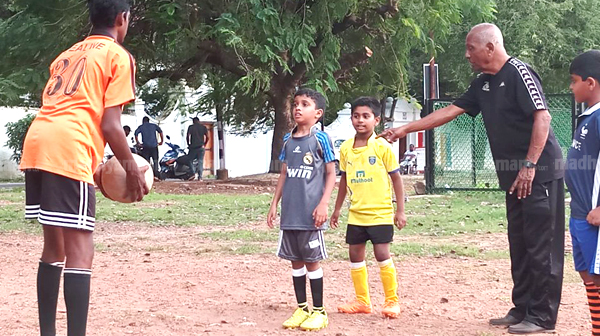 Coach Rufus D'Souza, 88, Defies Age to Teach Football to Kerala Youth