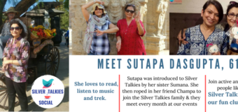 Let's Get Silver Talkies Social: Meet Sutapa