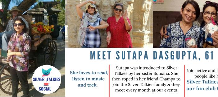 Let's Get Silver Talkies Social: Meet Sutapa