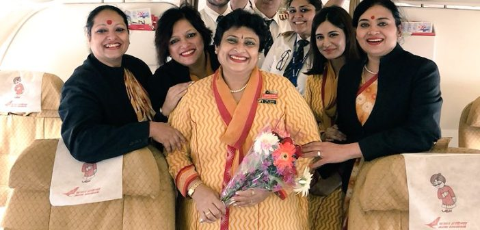 This Pilot Gave Her Air Hostess Mom The Best Retirement Gift Ever