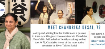 Let's Get Social: Meet Chandrika Desai