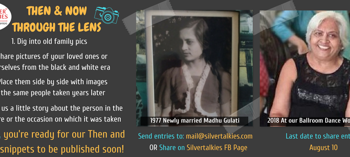 SILVER TALKIES MEMORY DRIVE: THEN AND NOW THROUGH THE LENS