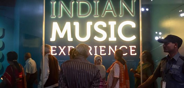 SILVER TALKIES EVENTS: VISIT TO INDIAN MUSIC EXPERIENCE