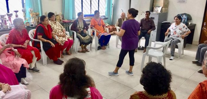 SILVER TALKIES ADDA EVENT: CHAIR YOGA WORKSHOP