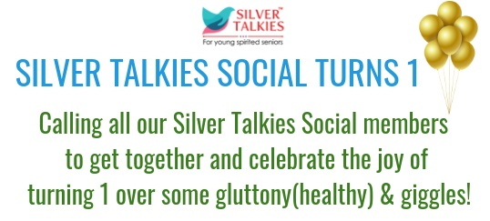 SILVER TALKIES SOCIAL TURNS ONE