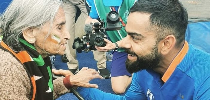 Age Does Not Matter When It Is About Celebrating World Cup, Showed This Octogenarian